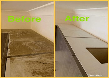 cleaning in birsbane before and after