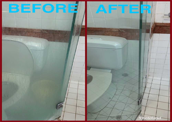 cleaning service in brisbane before and after picture