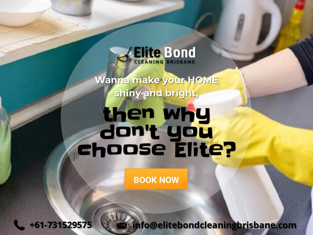 elite bond cleaners in brisbane