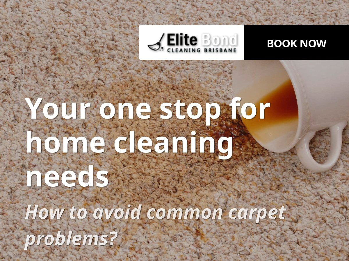 HOW TO AVOID COMMON CARPET PROBLEMS