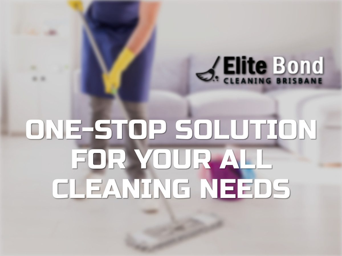 ONE-STOP SOLUTION FOR YOUR ALL CLEANING NEEDS